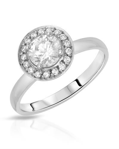 HELLMUTH Brand New Ring with 0ctw cubic zirconia 925 Silver sterling silver
