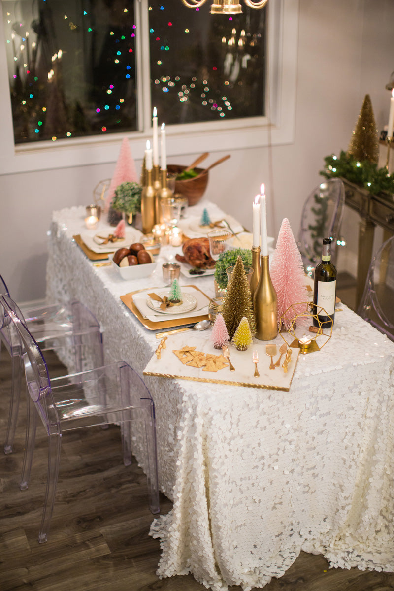 Cute Holiday Table Decor Morning Lavender