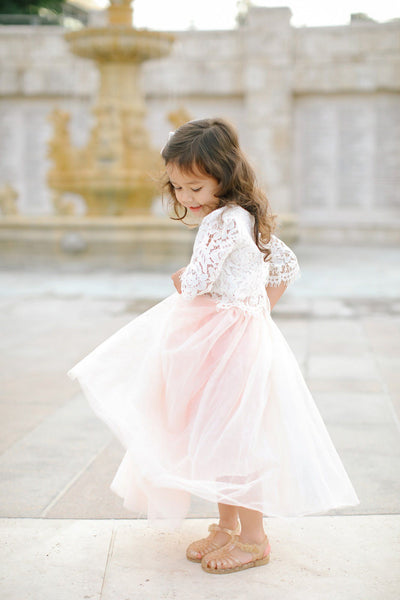 Kids Tulle Maxi Skirt Kids Salon De Bebe