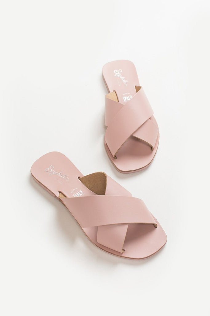 Seychelles Pink Total Relaxation Slide Sandal Shoes Seychelles