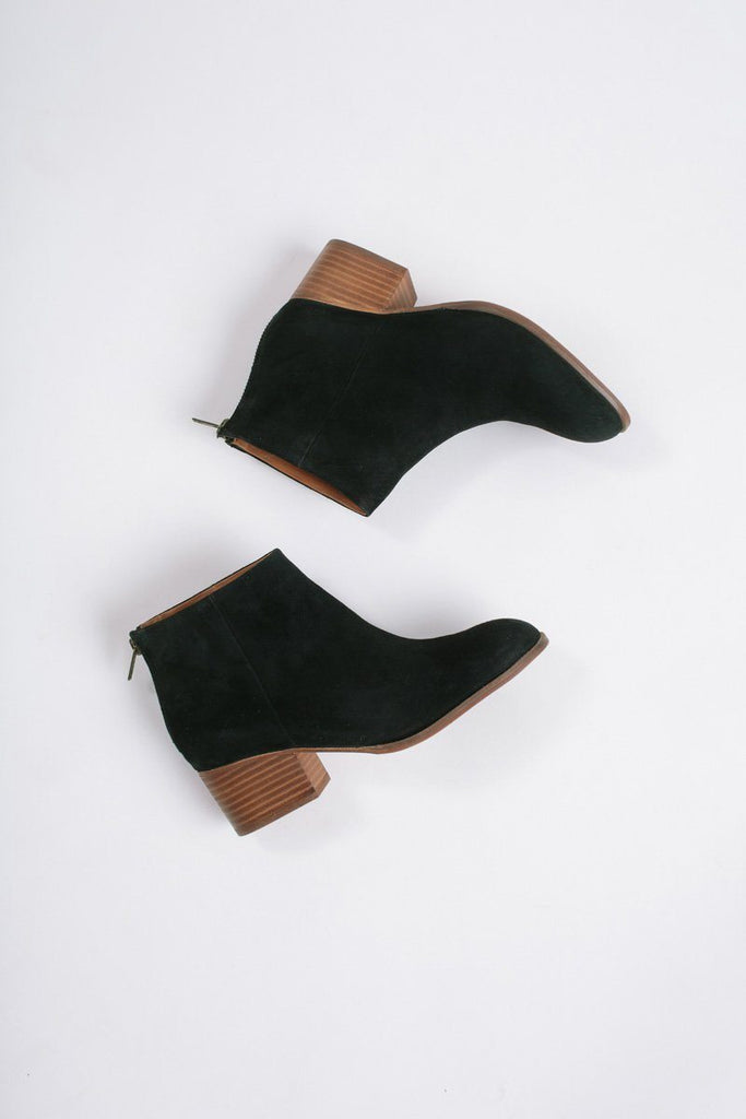 Seychelles Black Floodplain Suede Boots Shoes Seychelles