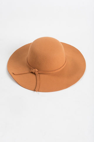 Sasha Rust Orange Hat