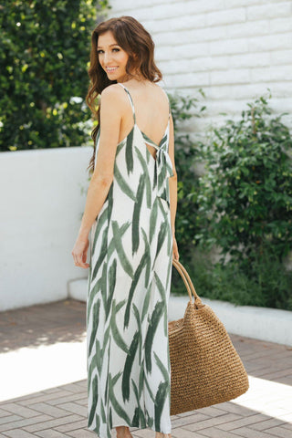 Lynette Printed Relaxed Jumpsuit Jumpsuits Lush