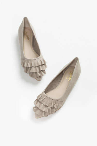 Seychelles Downstage Taupe Flats Shoes Seychelles