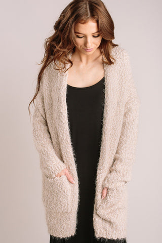 Ivy Popcorn Knit Cardigan Sweaters Dreamers