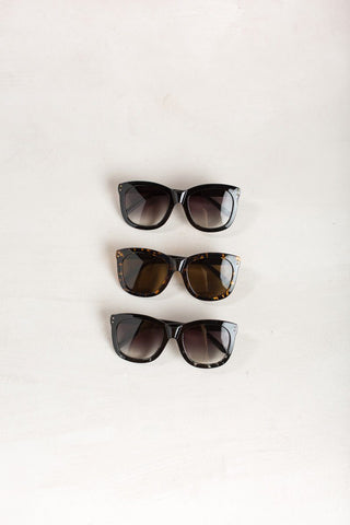 Lynn Square Sunglasses Sunglasses FAME