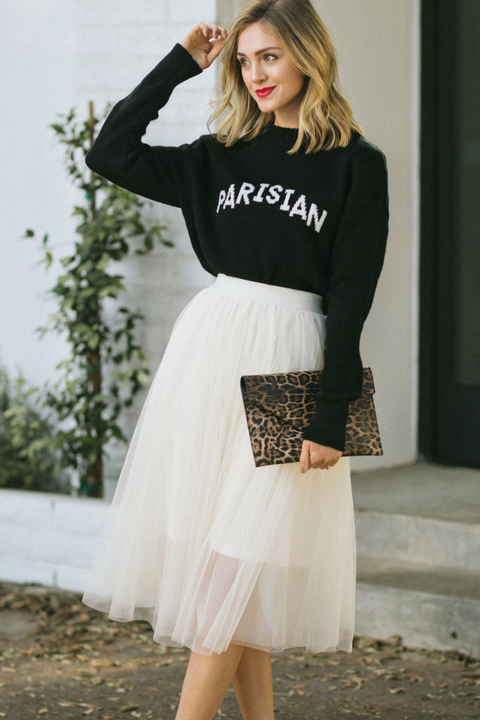 Darcy Parisian Graphic Sweater Sweaters Crescent