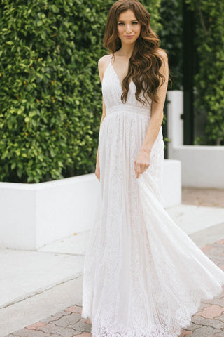 Justine Lace Maxi Dress Dresses Aakaa