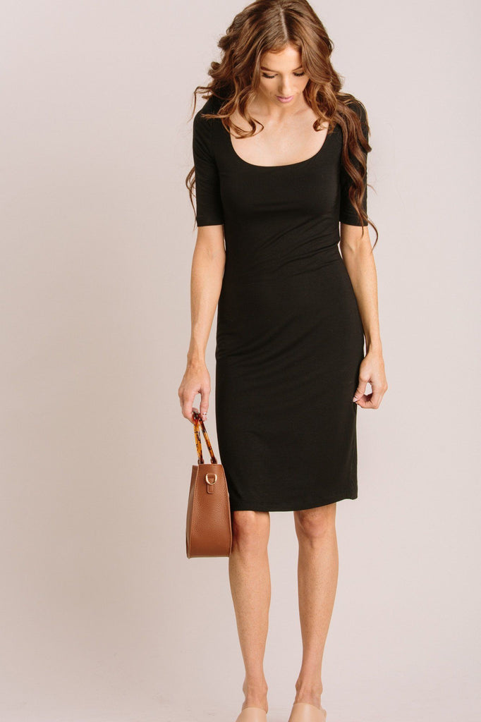 Miriam Double Layered Midi Dress Dresses Final Touch
