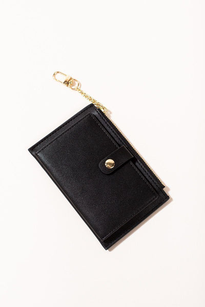 Tayla Card Wallet Handbags JOIA Black
