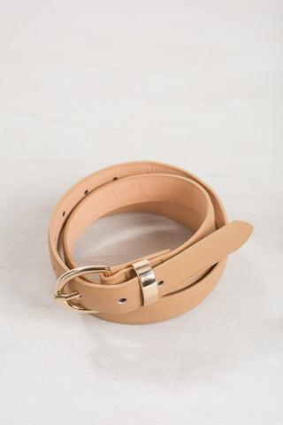 Linda Belt Belts Joia Tan