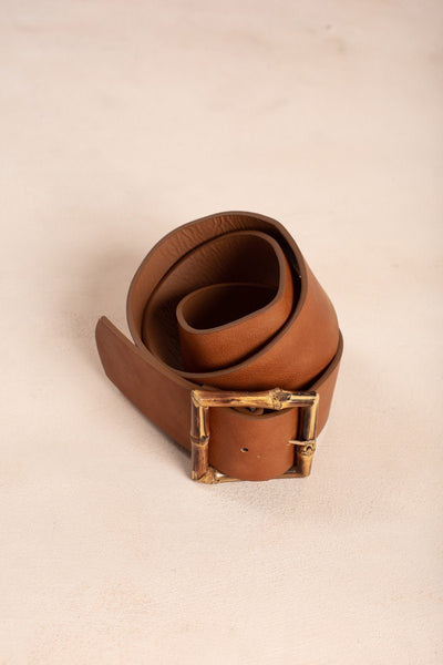 Josie Dark Brown Belt Belts -