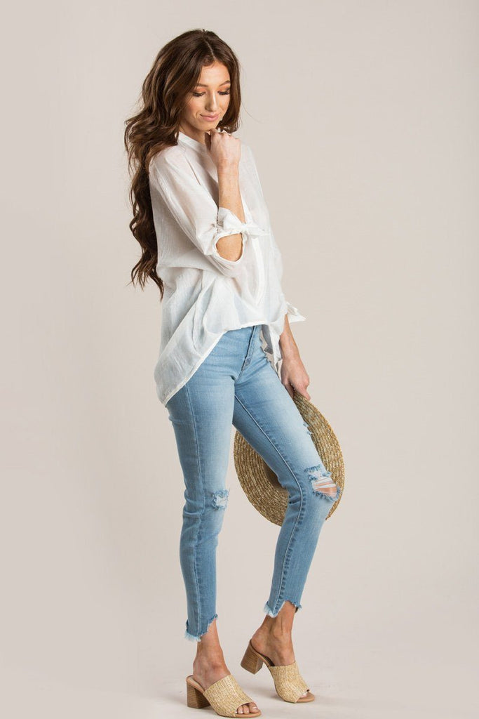 Gemma High Rise Ankle Skinny Jeans Jeans Kan Can