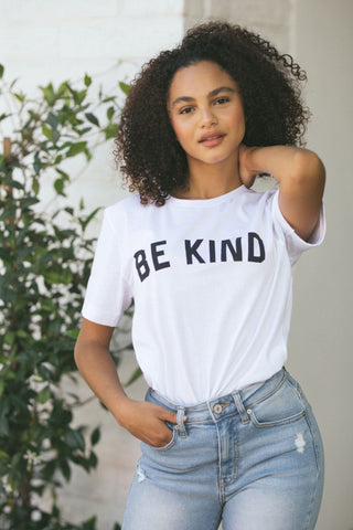 Kendra Be Kind Graphic T-Shirt Tops Alpha