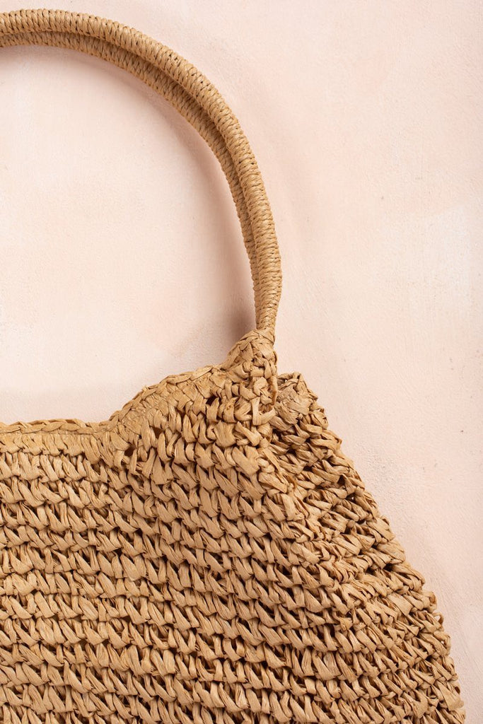Mimi Large Straw Bag Handbags Fame