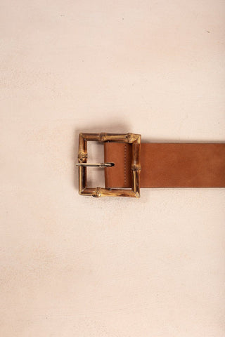 Josie Dark Brown Belt Belts - Dark Brown