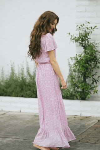 Giselle Floral Print Maxi Dress Dresses Everly