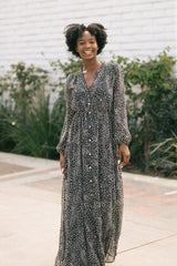 Molly Button Down Maxi Dress