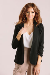 Nellie Shirred Blazer