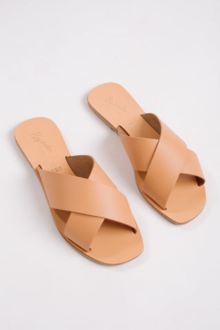 Seychelles Tan Total Relaxation Slide Sandal Shoes Seychelles