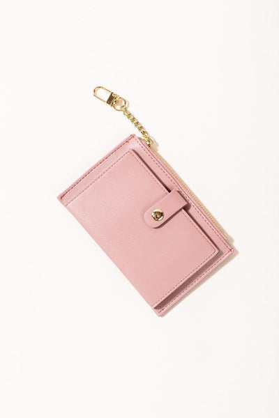 Tayla Card Wallet Handbags JOIA Mauve