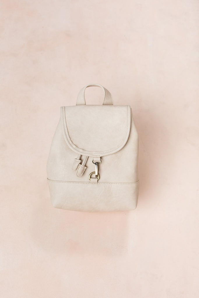 Freya Ivory Mini Backpack Handbags Street Level Ivory