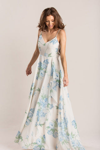 Elise Ivory Floral Maxi Dress Dresses Dress Forum