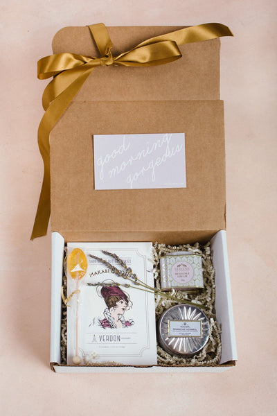 For a Cu-Tea Curated Gift Box Curated Gift Boxes Morning Lavender