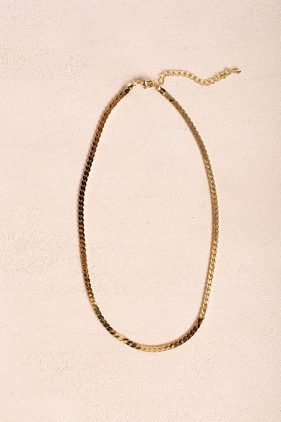 Emma Chain Necklace Necklaces Fame Gold