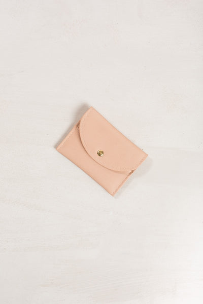 Mina Card Wallet Handbags MMS Nude