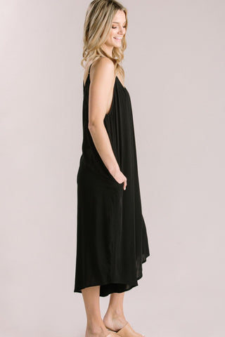 Jackie Black Loose Jumpsuit Jumpsuits Millibon