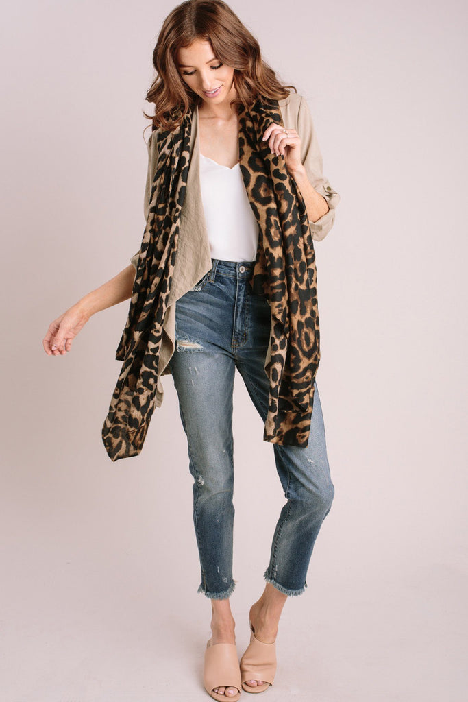 Chanel Cheetah Scarf Scarves Fame