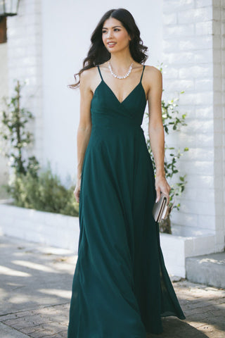 Magnolia Wrap Maxi Dress Dresses INA