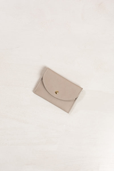 Mina Card Wallet Handbags MMS Grey