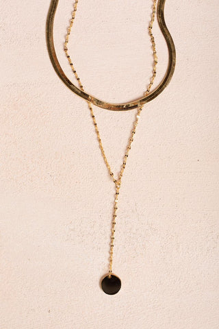 Candice Layered Chain Necklace Necklaces Fame