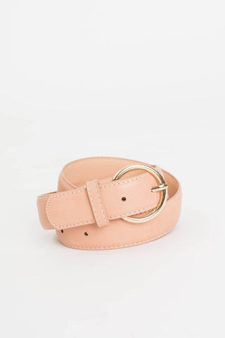 Rory Wide Blush Belt