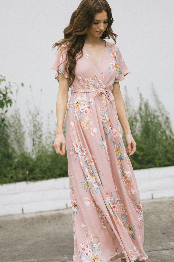 Perla Floral Maxi Dress Dresses Illa Illa