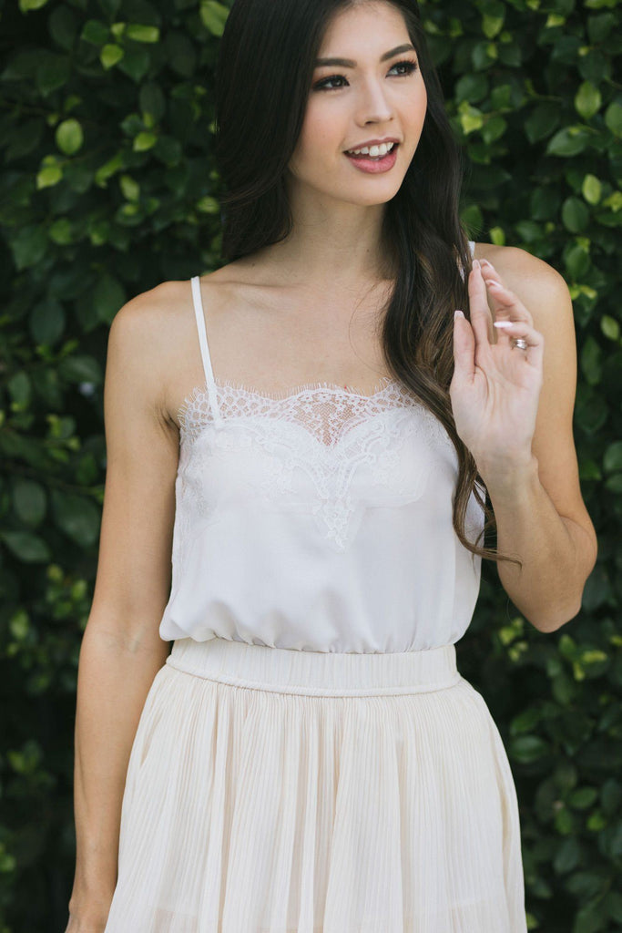 Rosalyn Lace Cami Tops STORIA