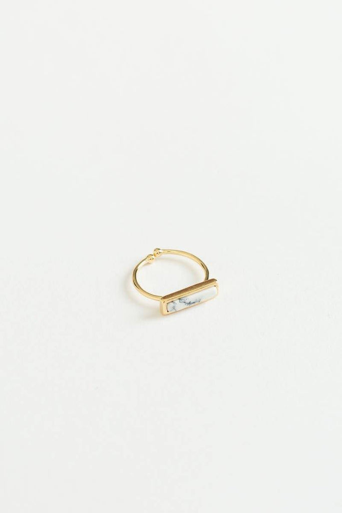 Terri Marble Bar Ring
