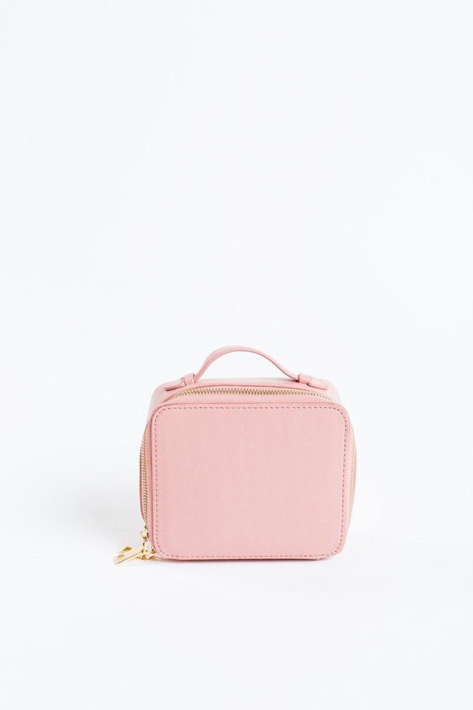 Beatrix Pink Makeup Case