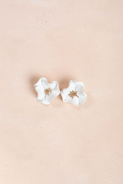 Helen Flower Earrings Earrings Fame