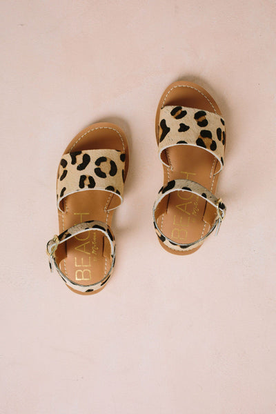 Lil' Cabana Sandal Shoes Matisse Leopard/Cowhair 11