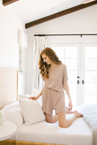 Kinsley Knit Two Piece Set Loungewear & Intimates Wishlist Twig Small