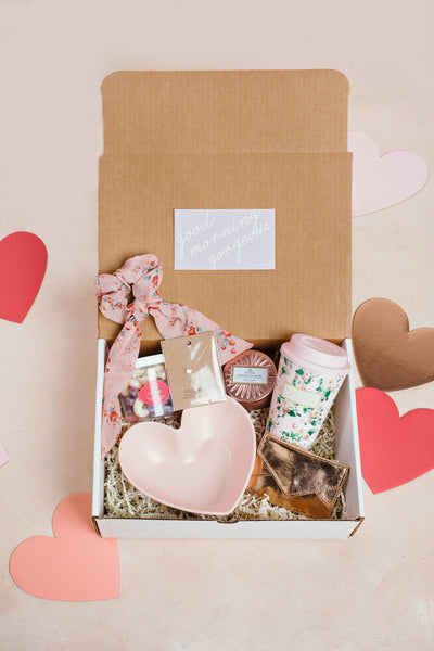 Sweetheart Curated Gift Box Curated Gift Boxes Morning Lavender