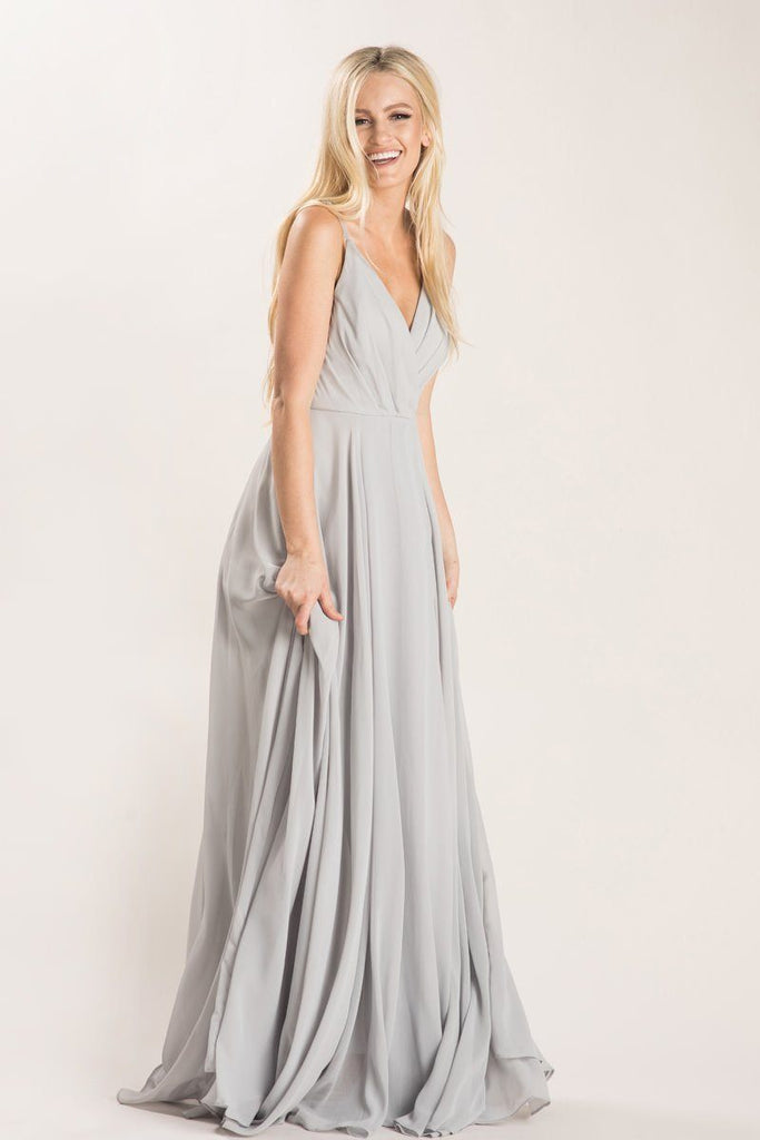 Petite Cassidy Flowy Maxi Dress Dresses Maniju Grey XSP