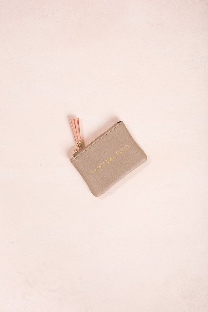 Nessa Taupe Coin Pouch Handbags MMS Taupe