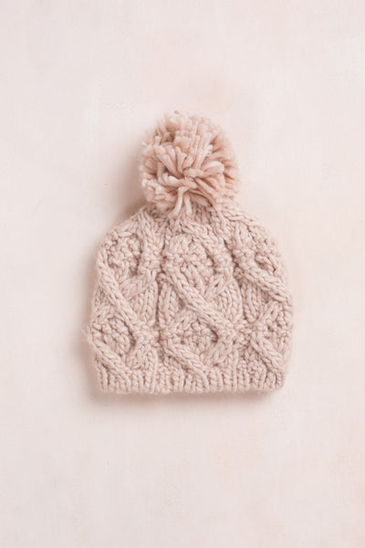 Penelope Knit Beanie Hats Fame Pink