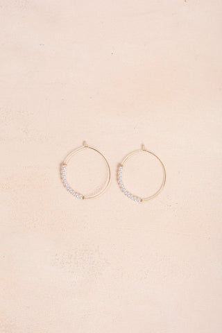 Ariana Pearl Hang Earrings Earrings Joia