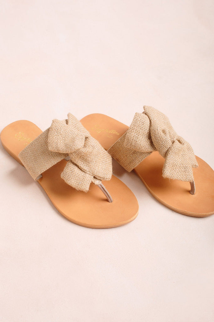 Seychelles Jubilee Burlap Flat Sandals Shoes Seychelles Natural 6