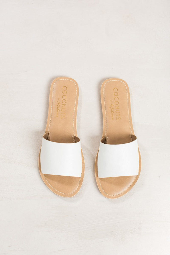 Matisse Cabana White Sandal Shoes Matisse White 6